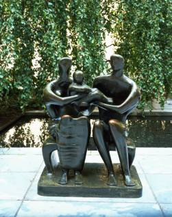 henry moore family group