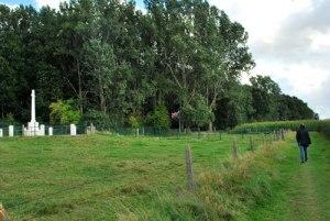 Stilte bij Railway Wood