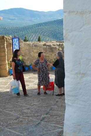 de plaatselijke dames