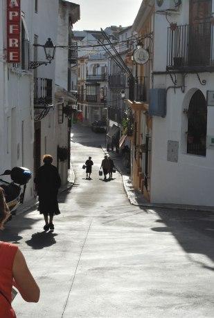 de typische straatjes van Iznajar
