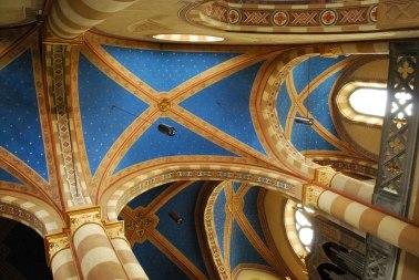 het interieur van de kathedraal van Alba