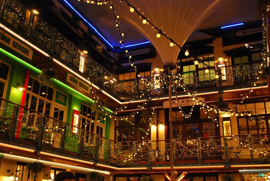 restaurantjes verscholen bij Kingsly court