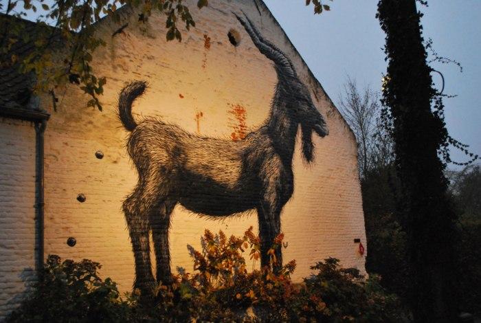 Street art en graffiti in Tourinnes-la-Grosse