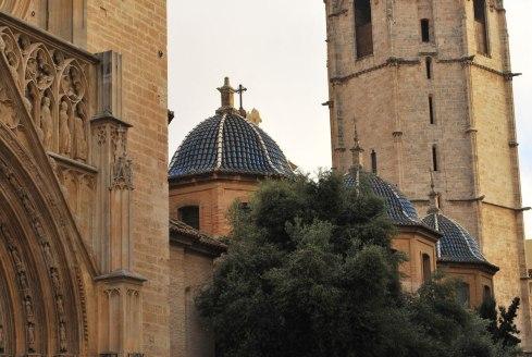 de kapellen van de kathedraal