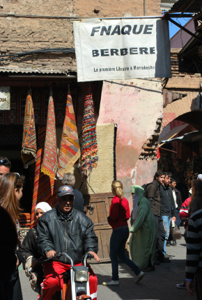 vanuit de oude medina