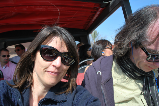 met de bus naar de Majorelletuin