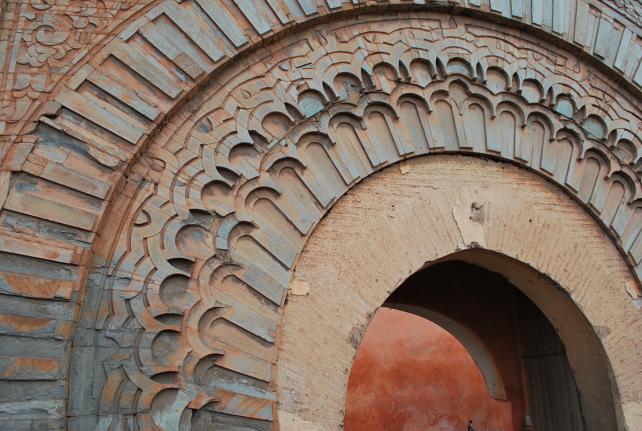 Bab Agnaou, één van de 19 poorten