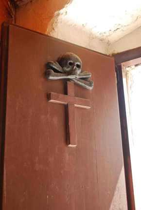 luguber kerkdetail