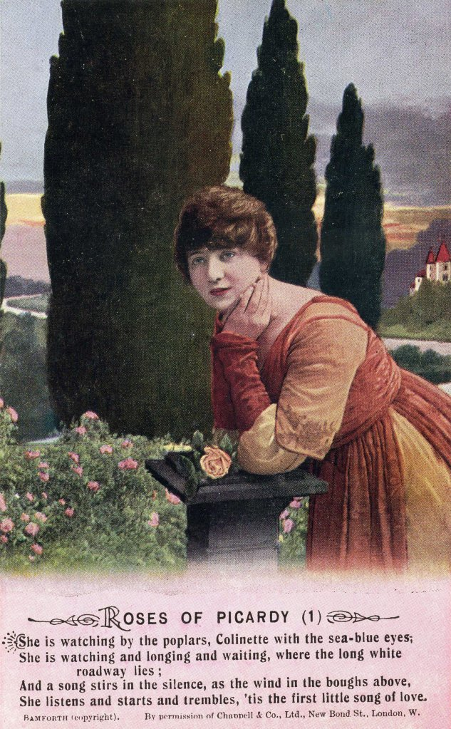 somme_Roses_of_picardy_song_card_no_1