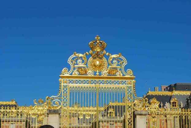 de poort aan het voorhof