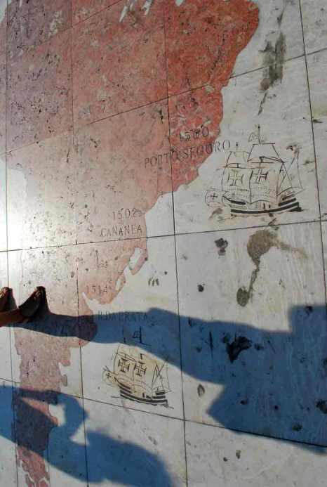 mapa del mundo marinero