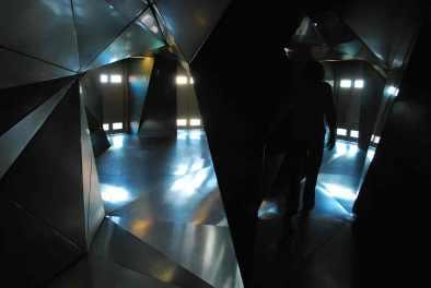 lobby bij de lift van Plasma Studio