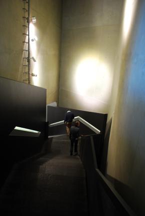 De ingang van het Joods museum