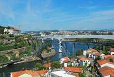 Ponte D. Luis I vanuit Vila Nova de Gaia