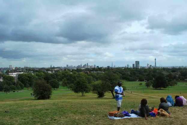 Primrose Hill: geliefde picknickplek