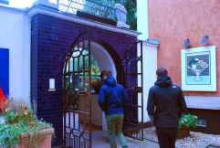 de blauwe deur van Bla Porten