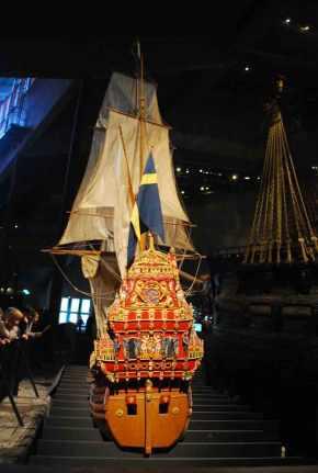 schaalmodel: zo zag de Vasa er uit