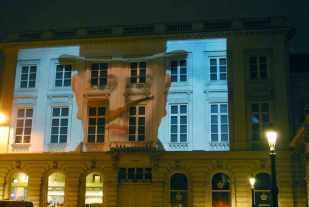 René Magritte op de gevel