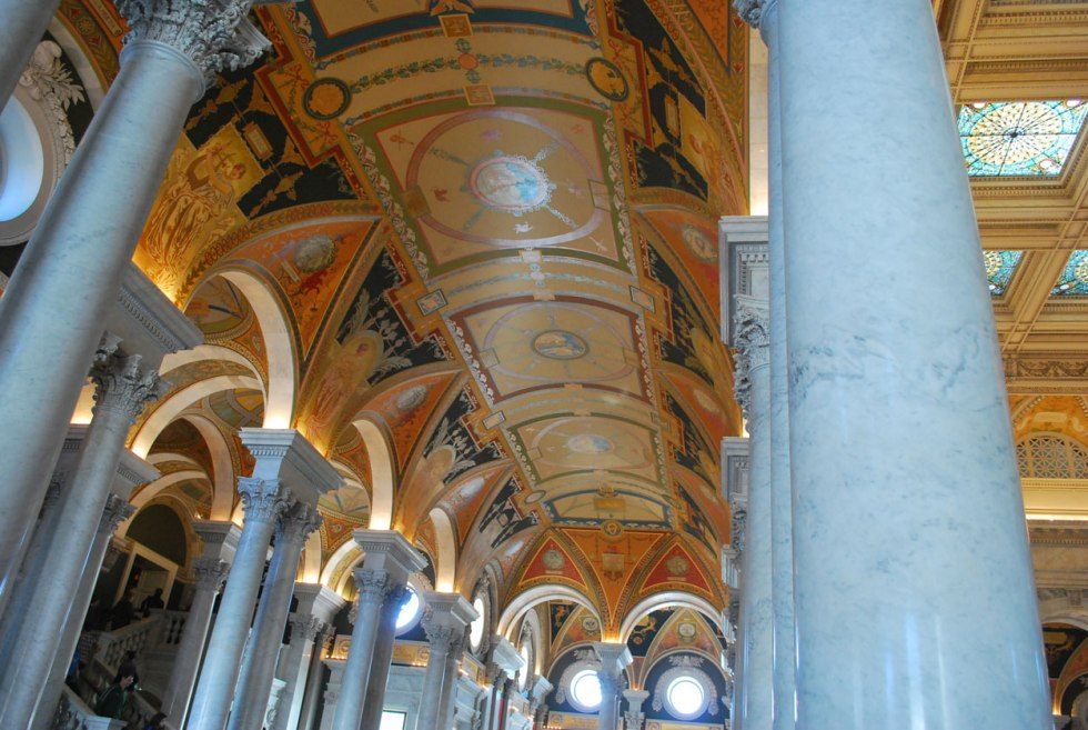 the Library of Congress, Washington DC