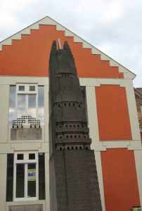 Charles Vandenhove : architectuur in het historisch centrum van Luik