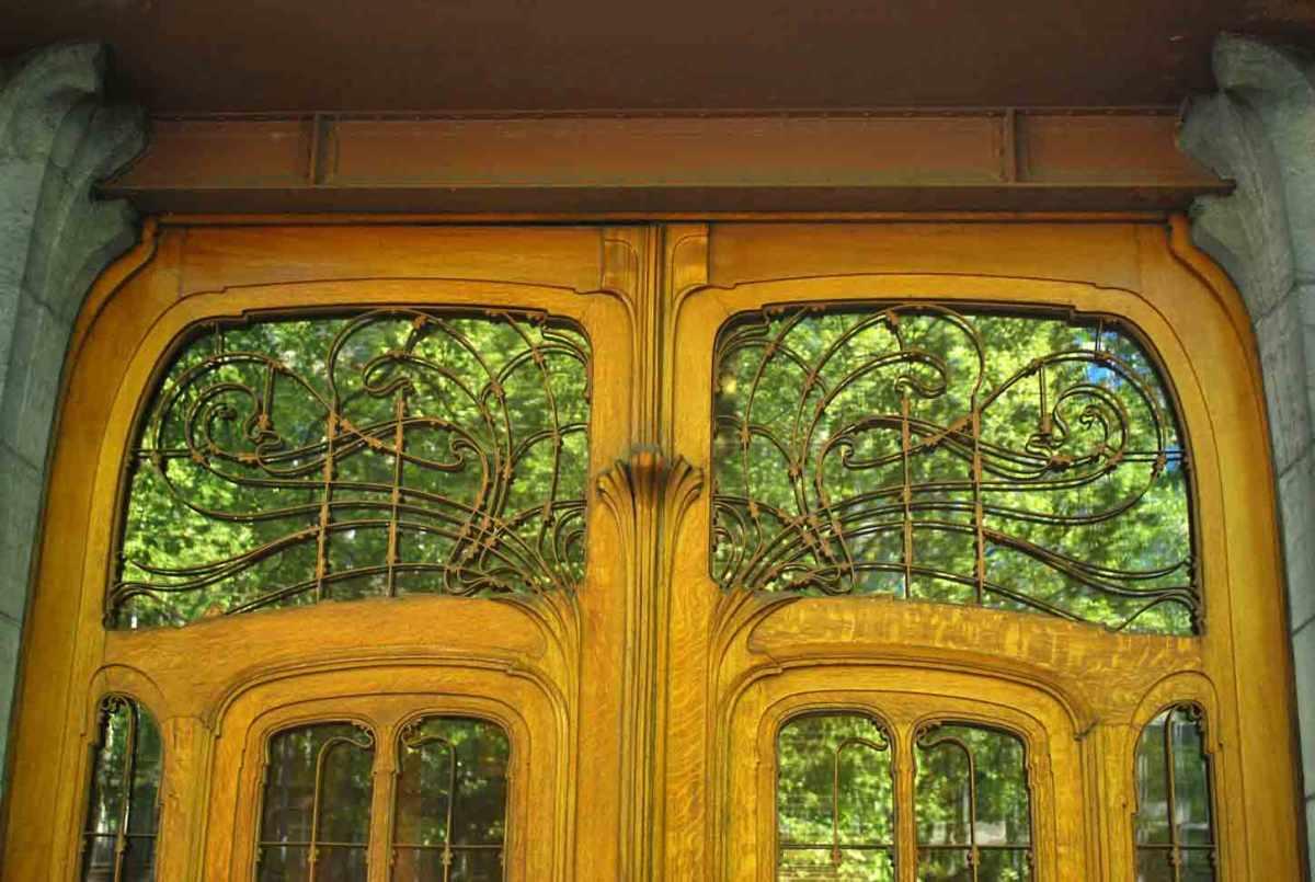 Binnengluren in het art nouveau-paleisje van baron Solvay (Brussel)