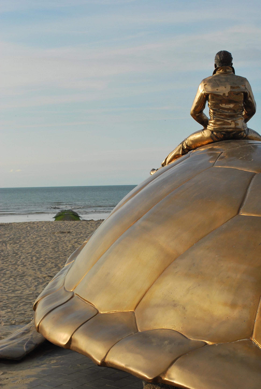Belgische kust Beaufort kunsttriënnale aan zee
